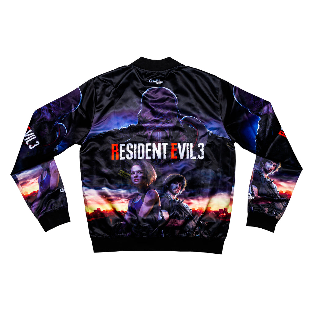 Resident Evil Retro Satin Jacket