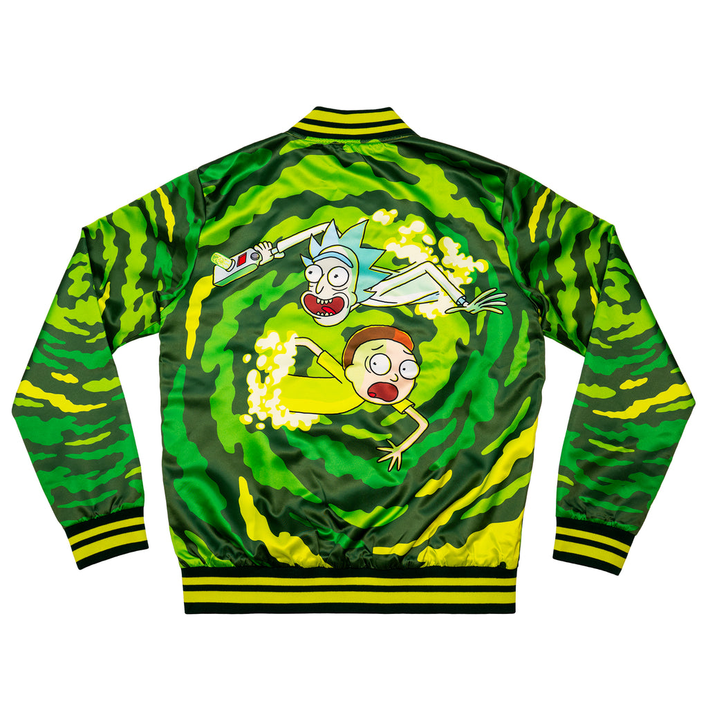 Rick & Morty Portal Fanimation Jacket