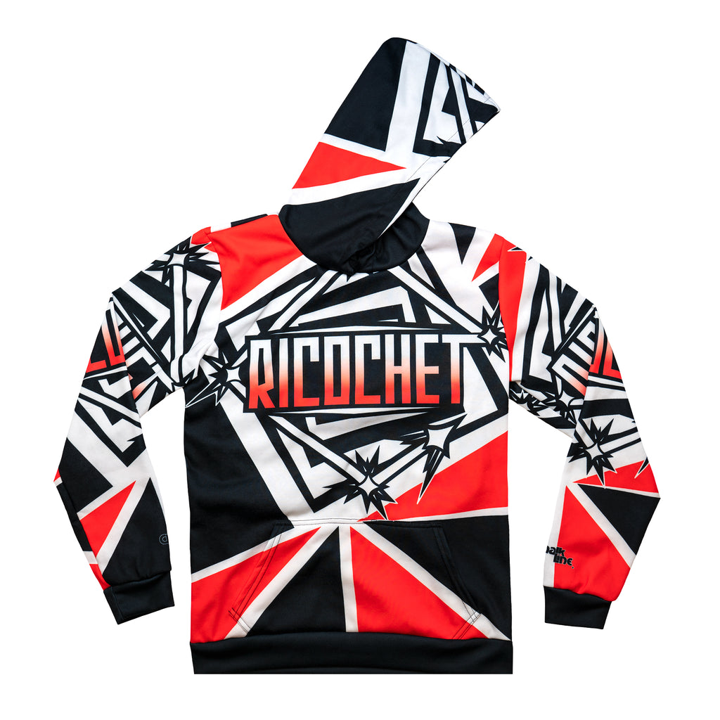 Ricohet Sublimated Fanimation Poly/Fleece WWE Hoodie