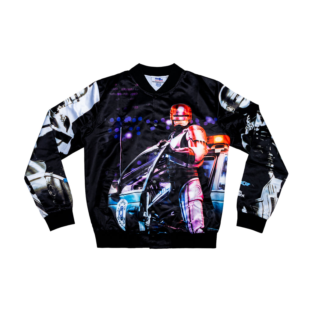 Robocop Retro Satin Jacket