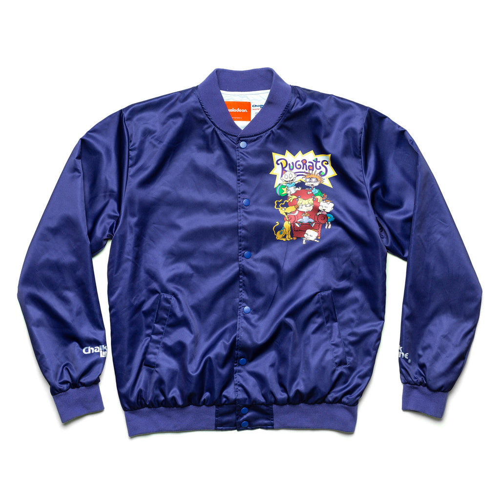 Rugrats Retro Nickelodeon Satin Jacket