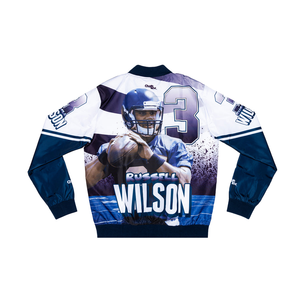 Russell Wilson Retro Fanimation Jacket