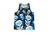 Stone Cold All Over Skull Logo Tank Top