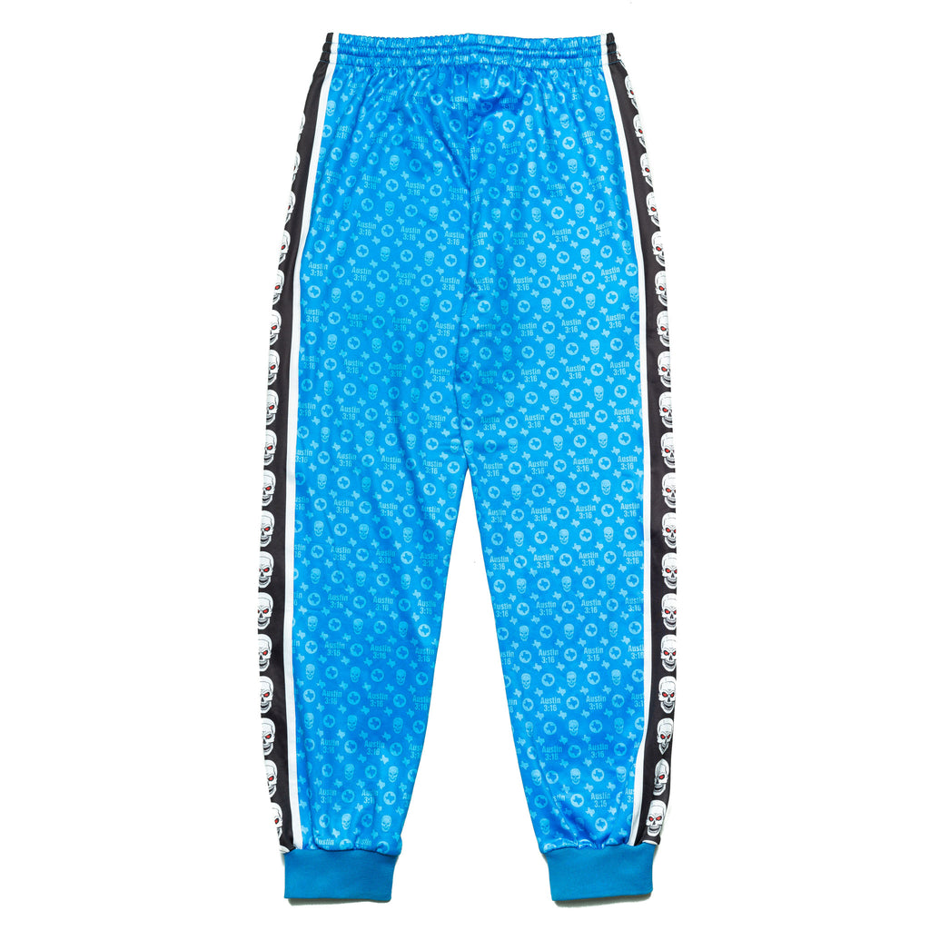 Stone Cold Blue Logo Track Pants