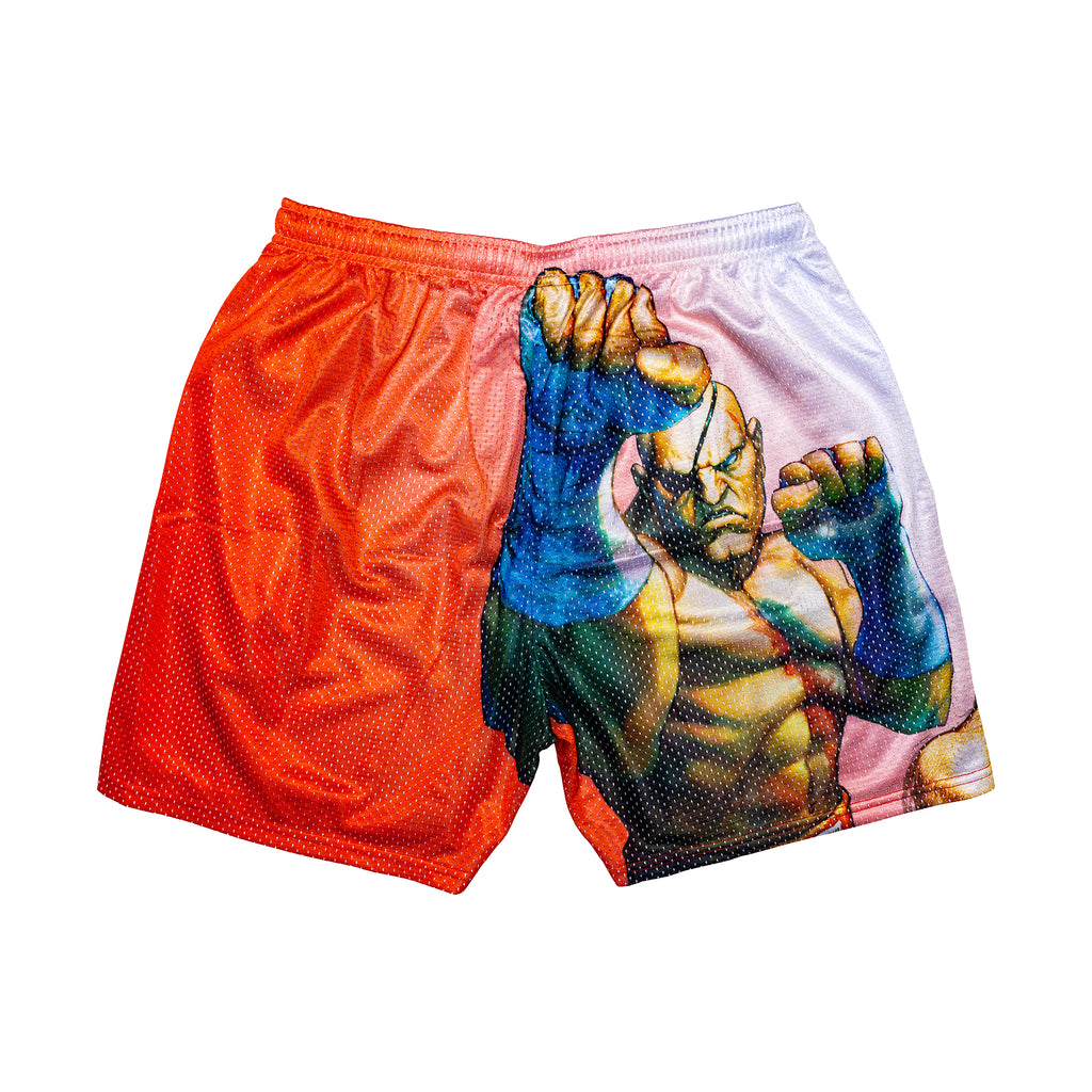 Sagat Retro Street Fighter Shorts