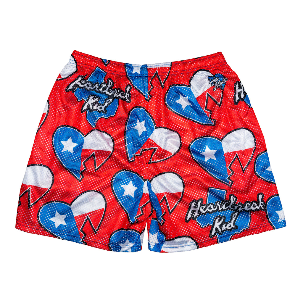 HBK Royal Rumble 97 Retro Texas Shorts