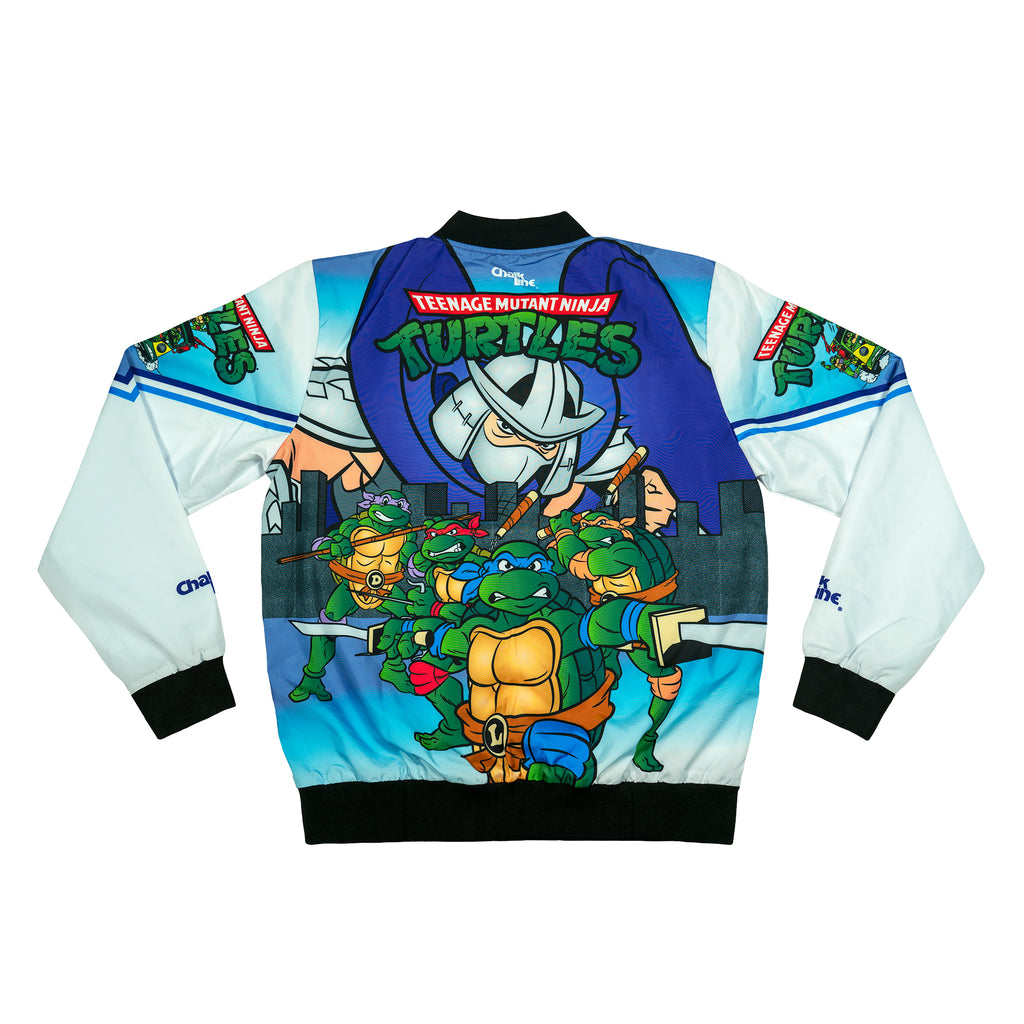 Shredder vs TMNT Retro Fanimation Jacket