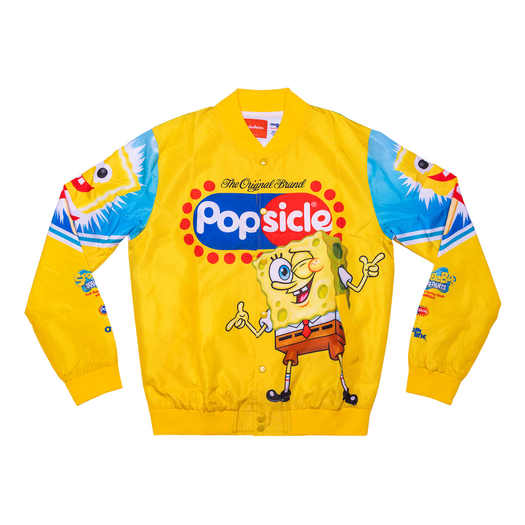 SpongeBob x Popsicle Yellow Fanimation Jacket