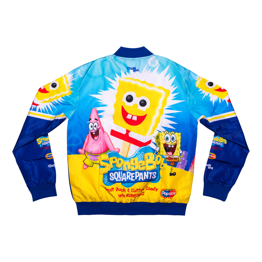 SpongeBob x Popsicle Blue Fanimation Jacket