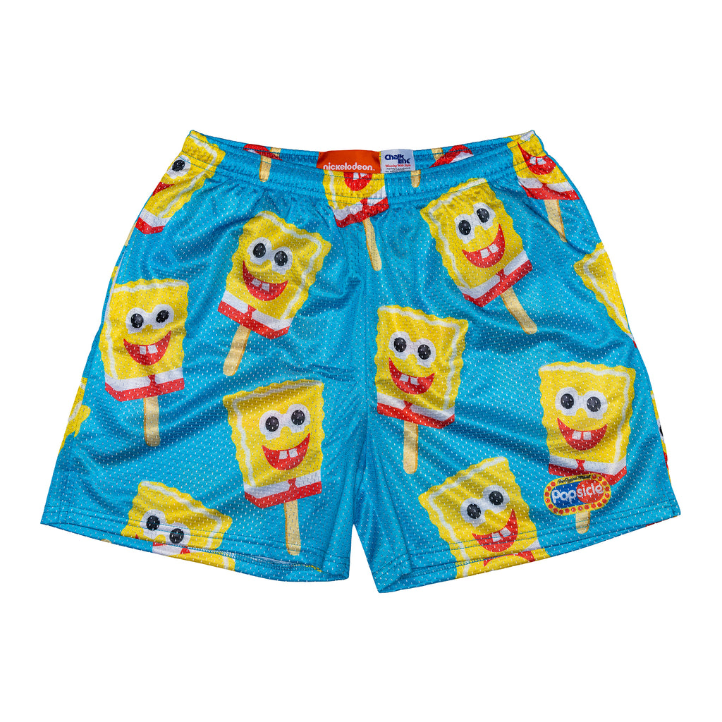 SpongeBob x Popsicle All Over Print Logo Short