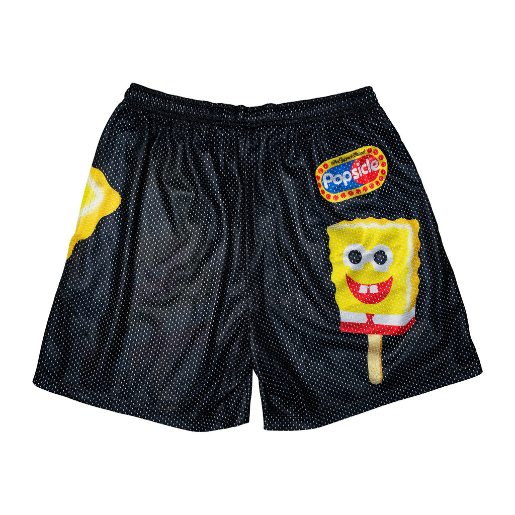 SpongeBob x Popsicle Black Logo Shorts