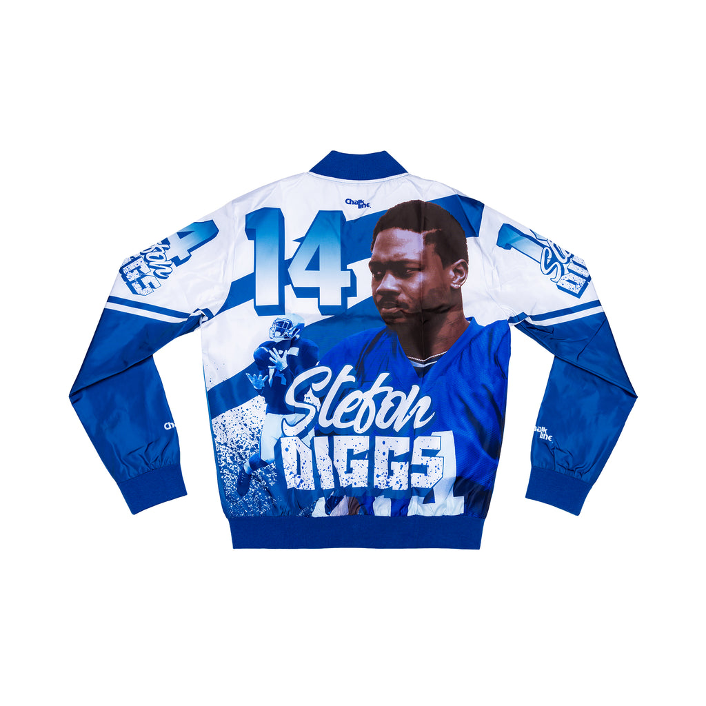 Stefon Diggs Retro Fanimation Jacket
