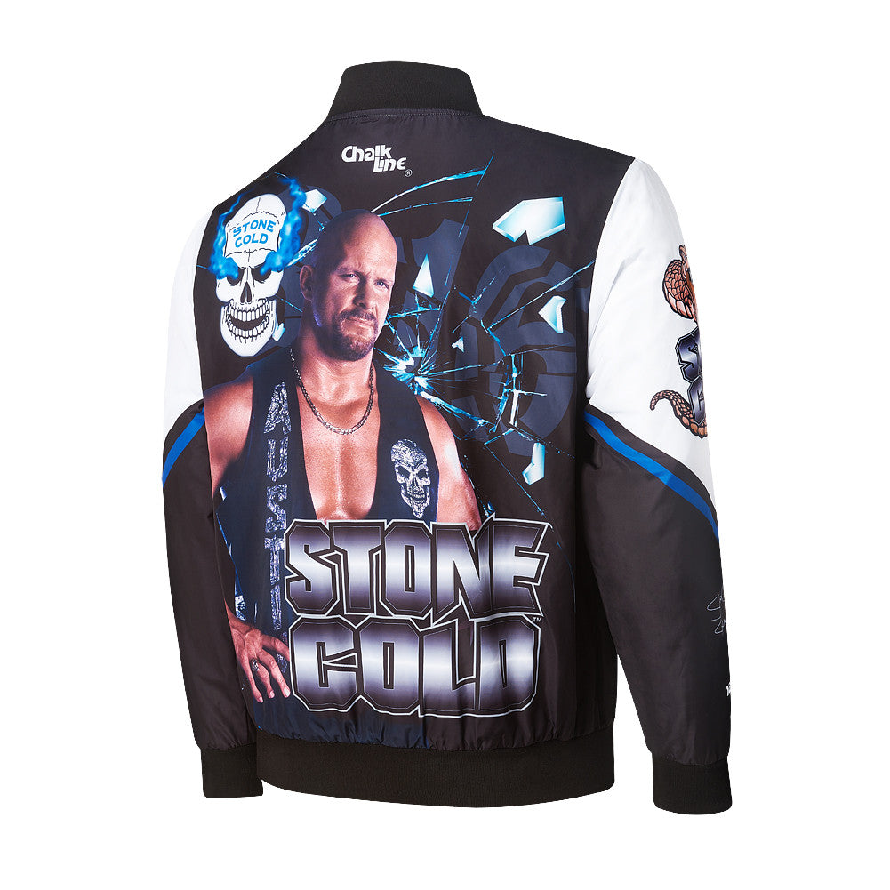 WWE Retro Stone Cold Steve Austin Fanimation Jacket