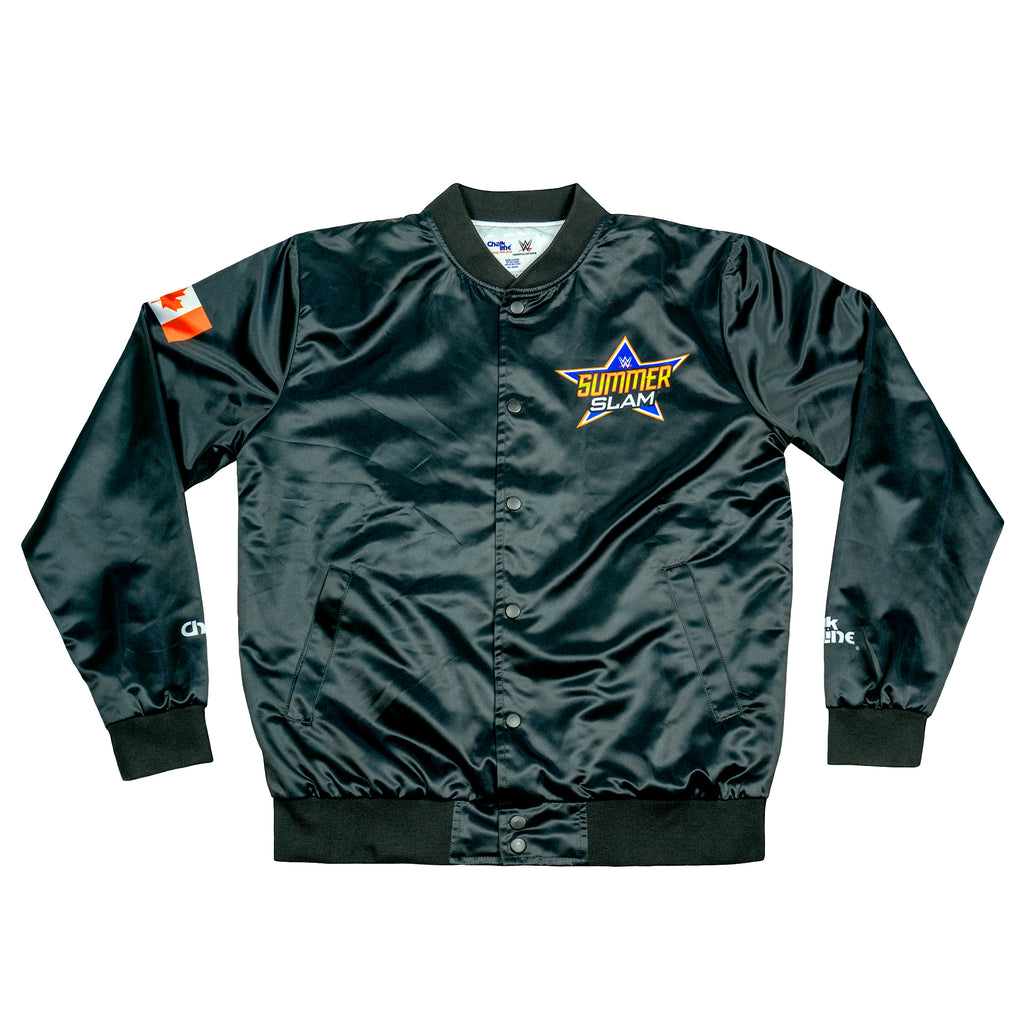 SummerSlam Toronto Logo Black Retro Jacket