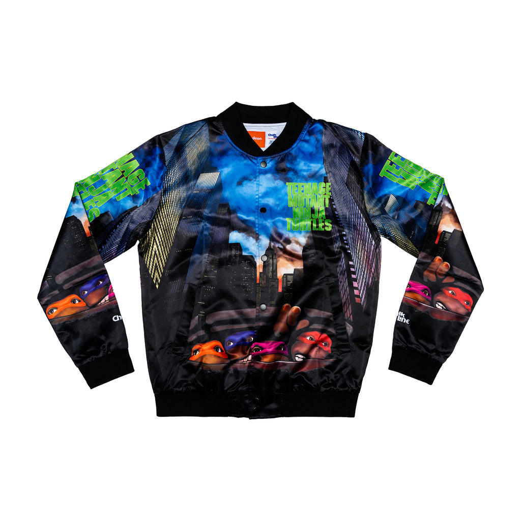 TMNT 1990 Retro Movie Jacket