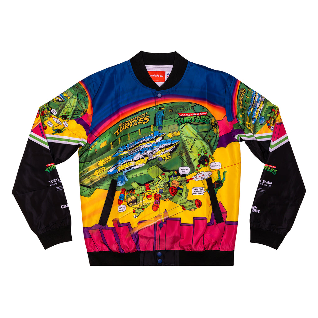 TMNT Retro Blimp Fanimation Jacket