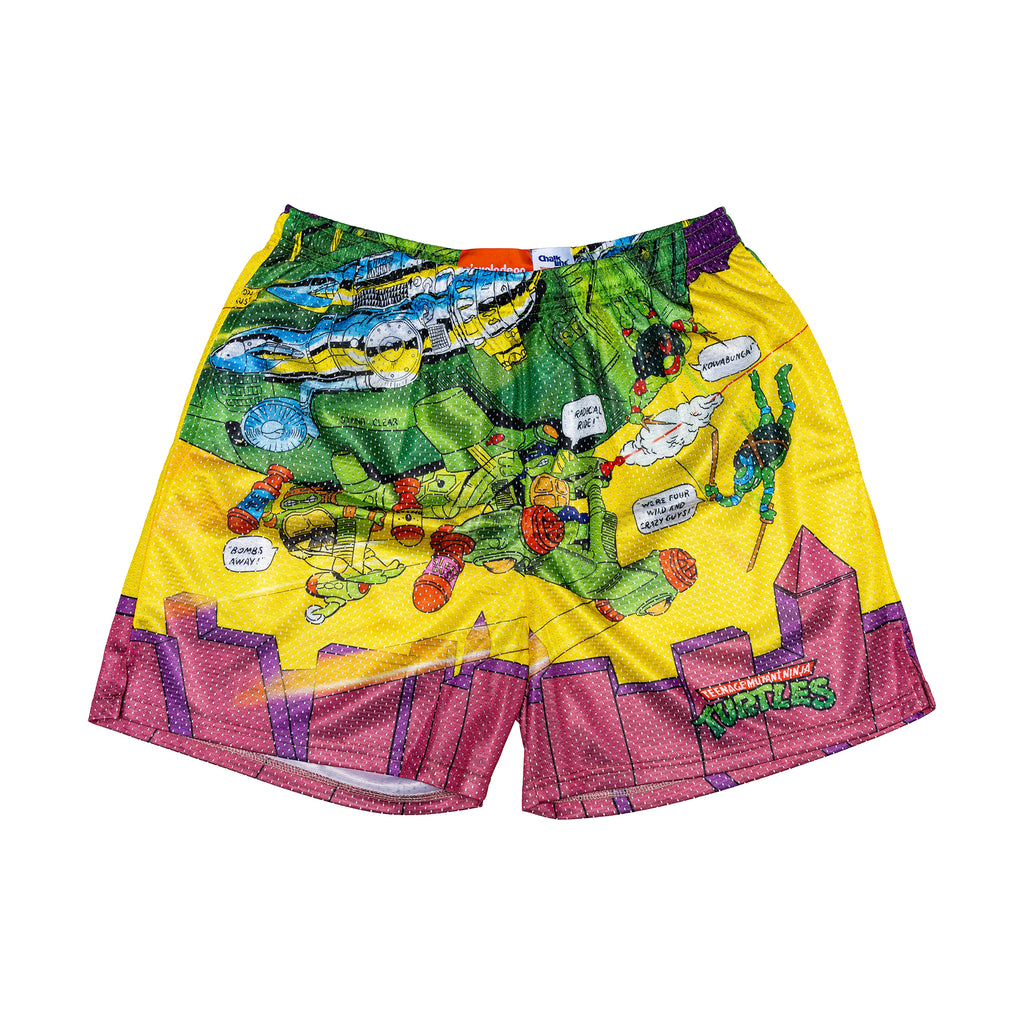 TMNT Retro Blimp Shorts