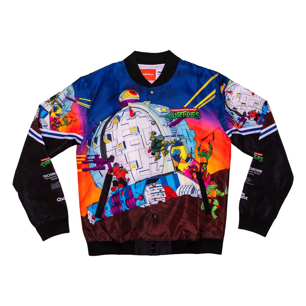 TMNT Retro Technodrome Fanimation Jacket