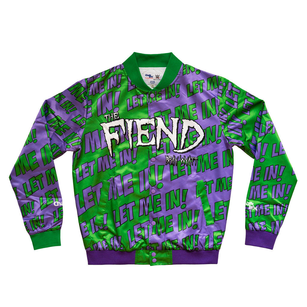 The Fiend Bray Wyatt Custom Fanimation Jacket