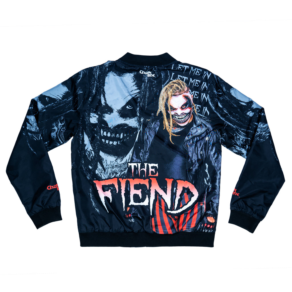 The Fiend Bray Wyatt Black Retro Fanimation Jacket