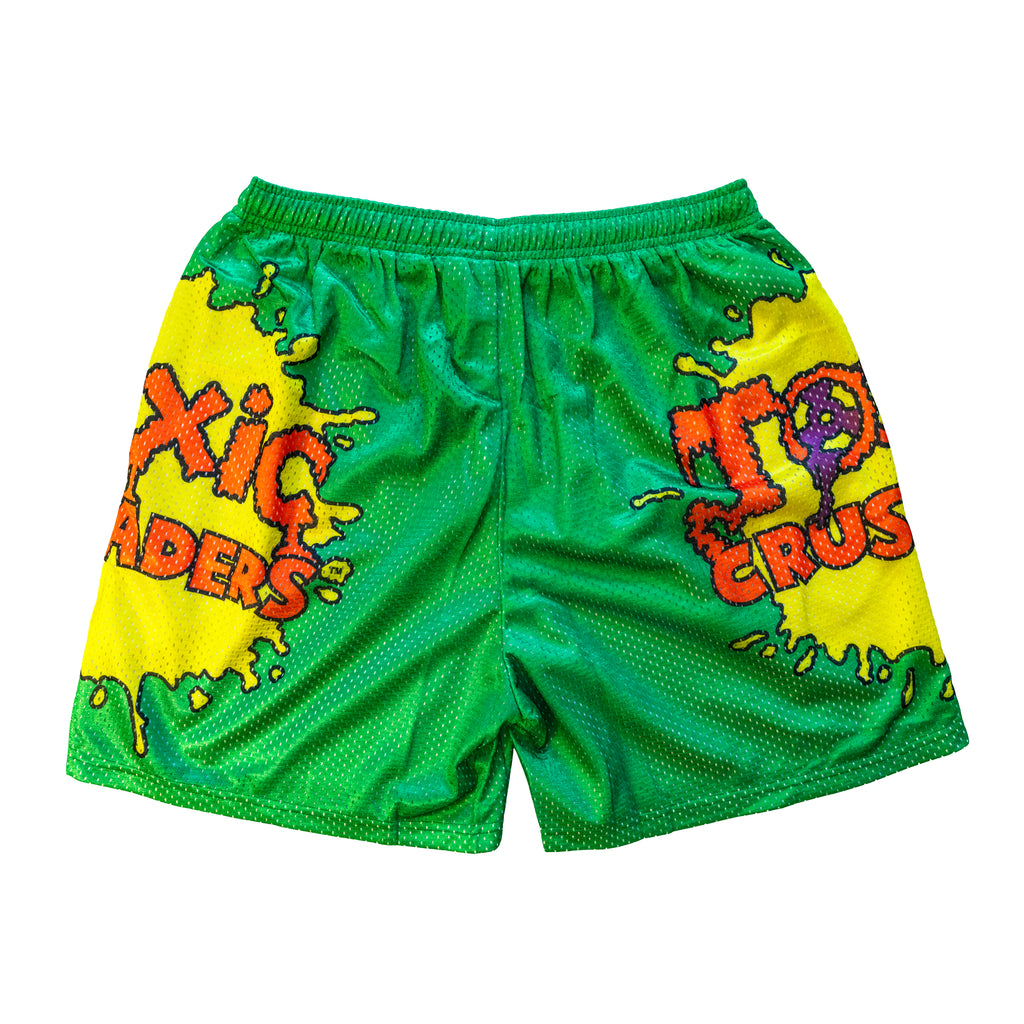 Toxic Crusaders Retro Logo Shorts
