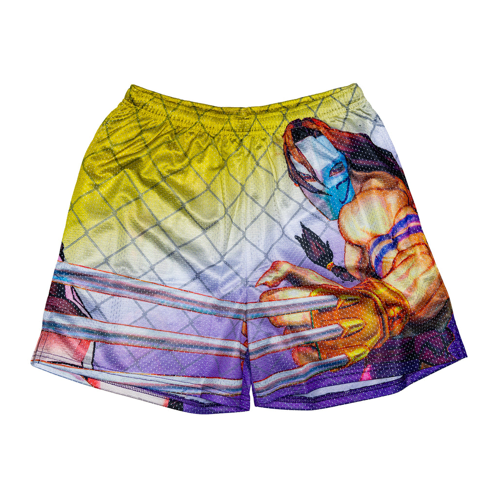 Vega Retro Street Fighter Short