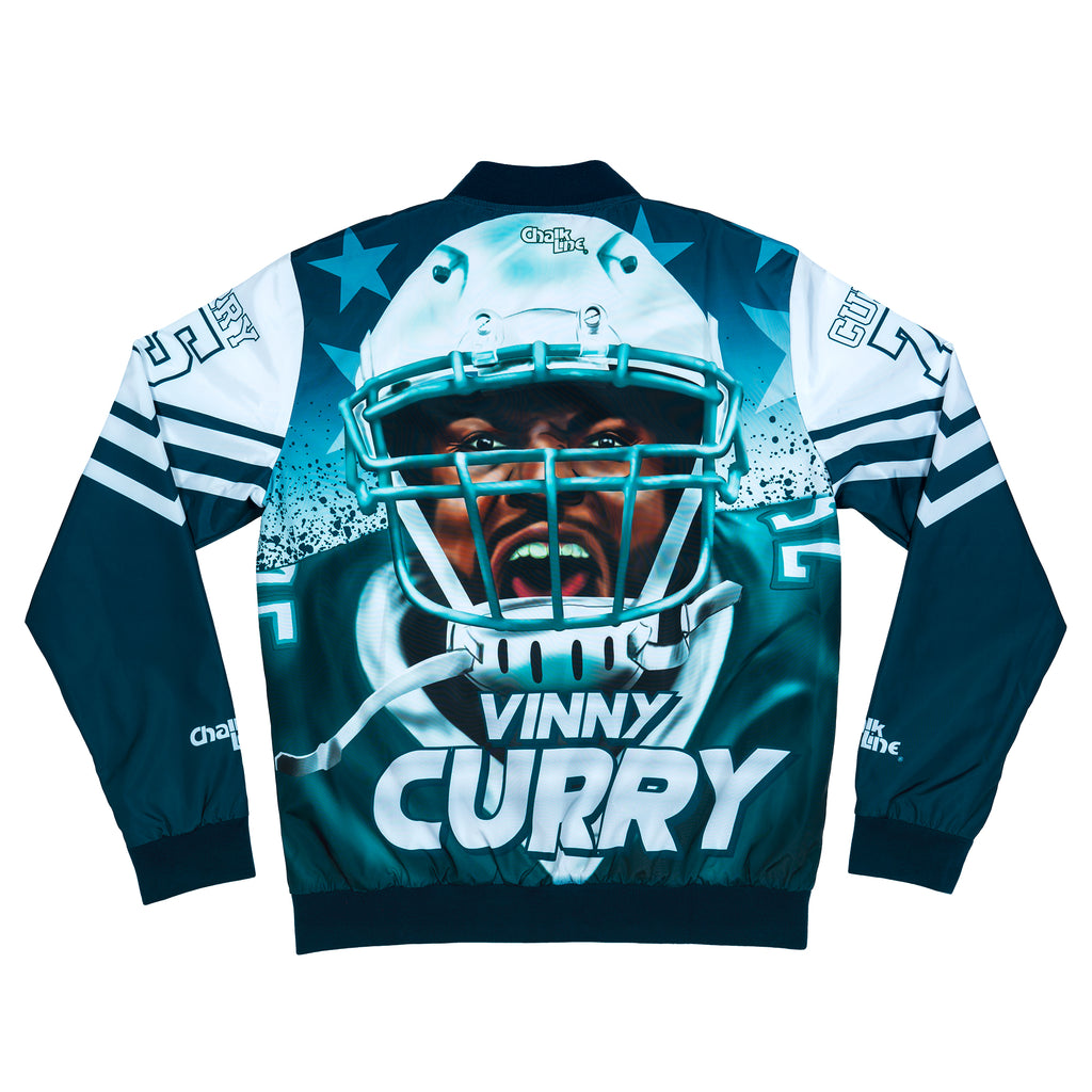 Vinny Curry Retro NFLPA Fanimation Jacket