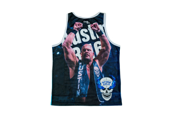 "WWE ""Stone Cold"" Steve Austin Fanimation Tank Top"