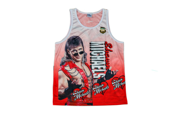 WWE Shawn Michaels Fanimation Tank Top