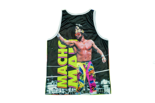 "WWE Randy ""Macho Man"" Savage Fanimation Tank Top"
