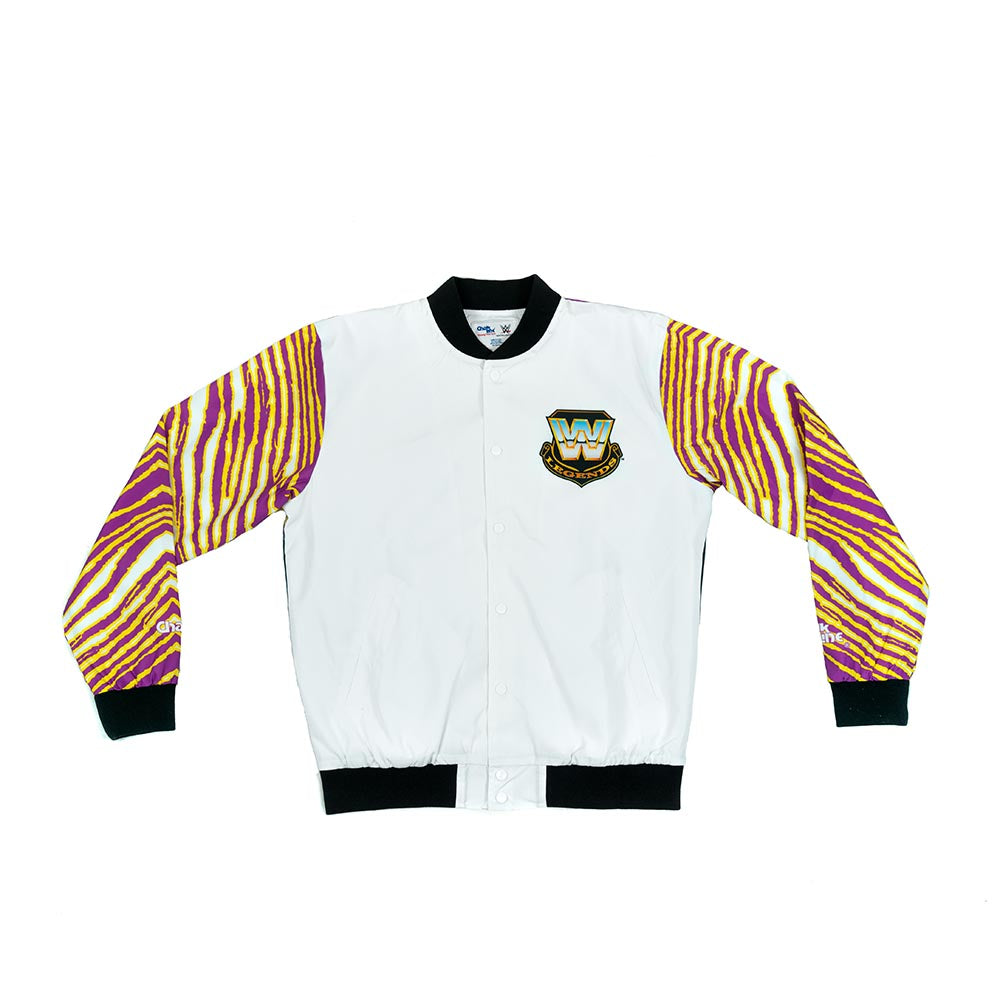 WWE Retro Razor Ramon Zubaz Fanimation Jacket