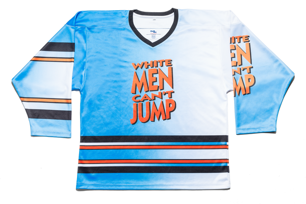 White Men Cant Jump Hockey Jersey