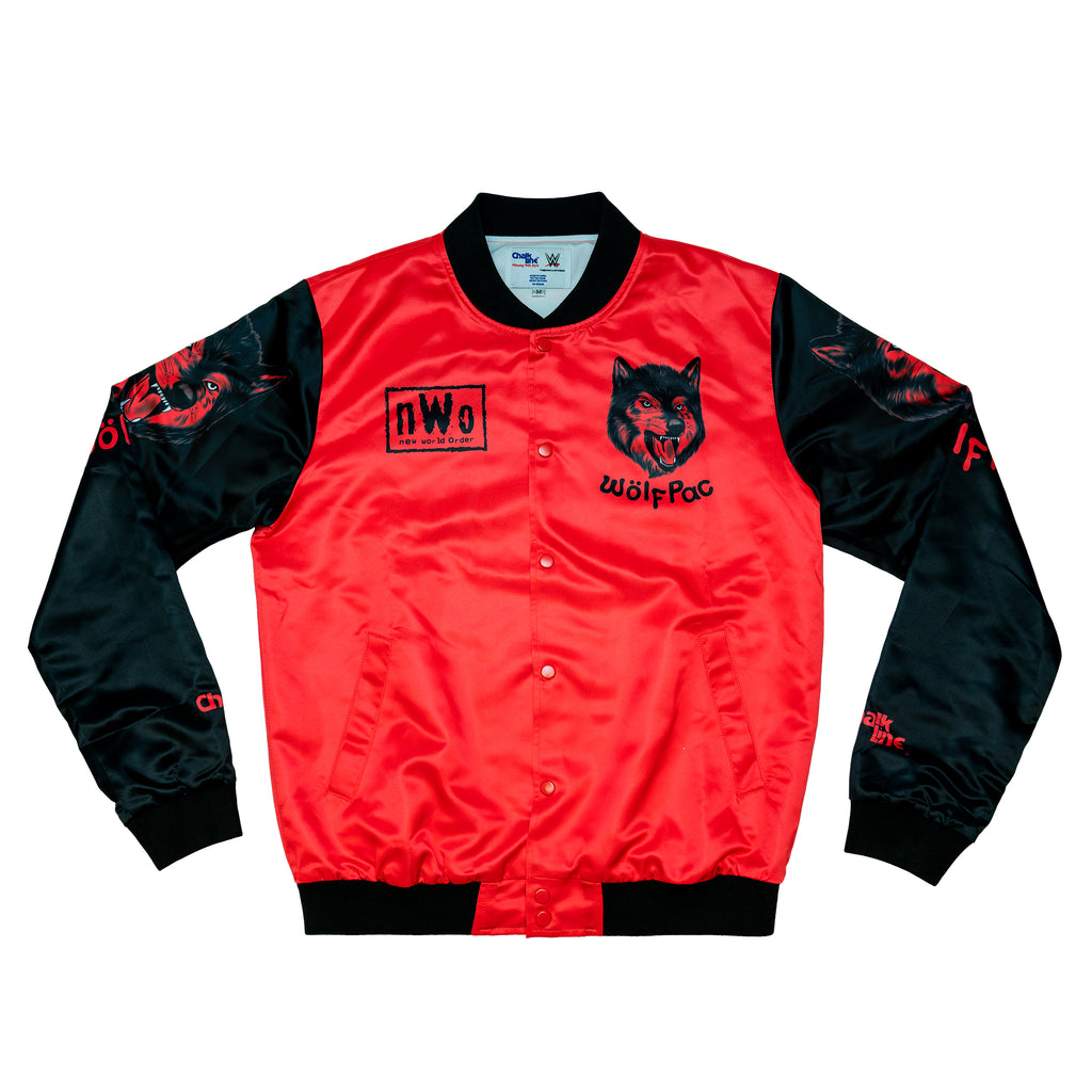 NWO Wolfpac Satin Fanimation Jacket