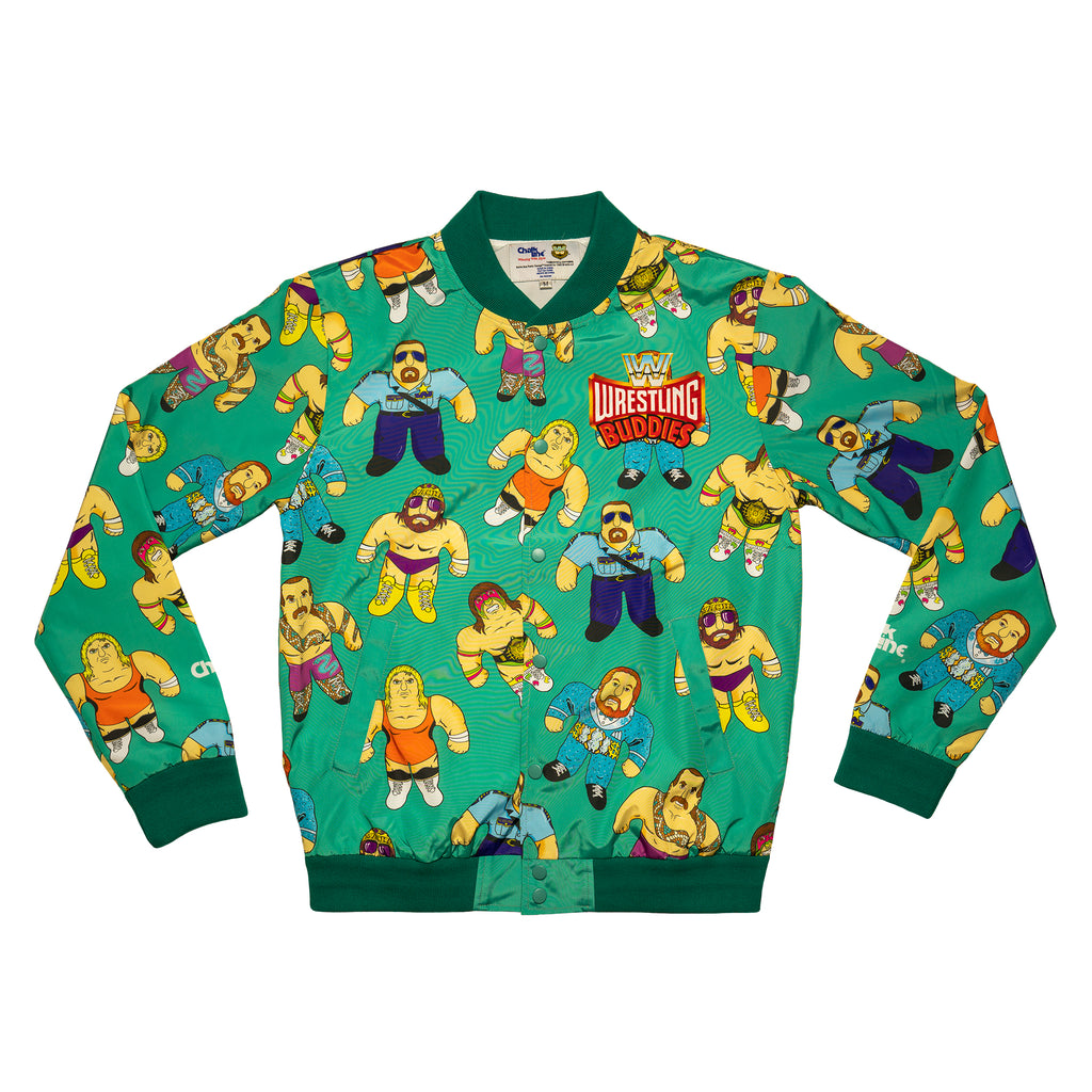 Wrestling Buddies Retro Fanimation Jacket