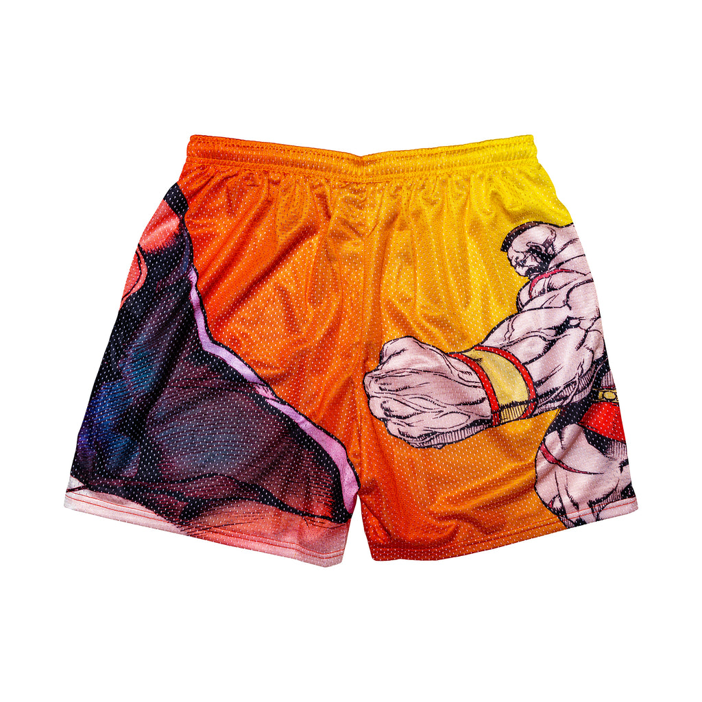 Zangief Retro Street Fighter Shorts