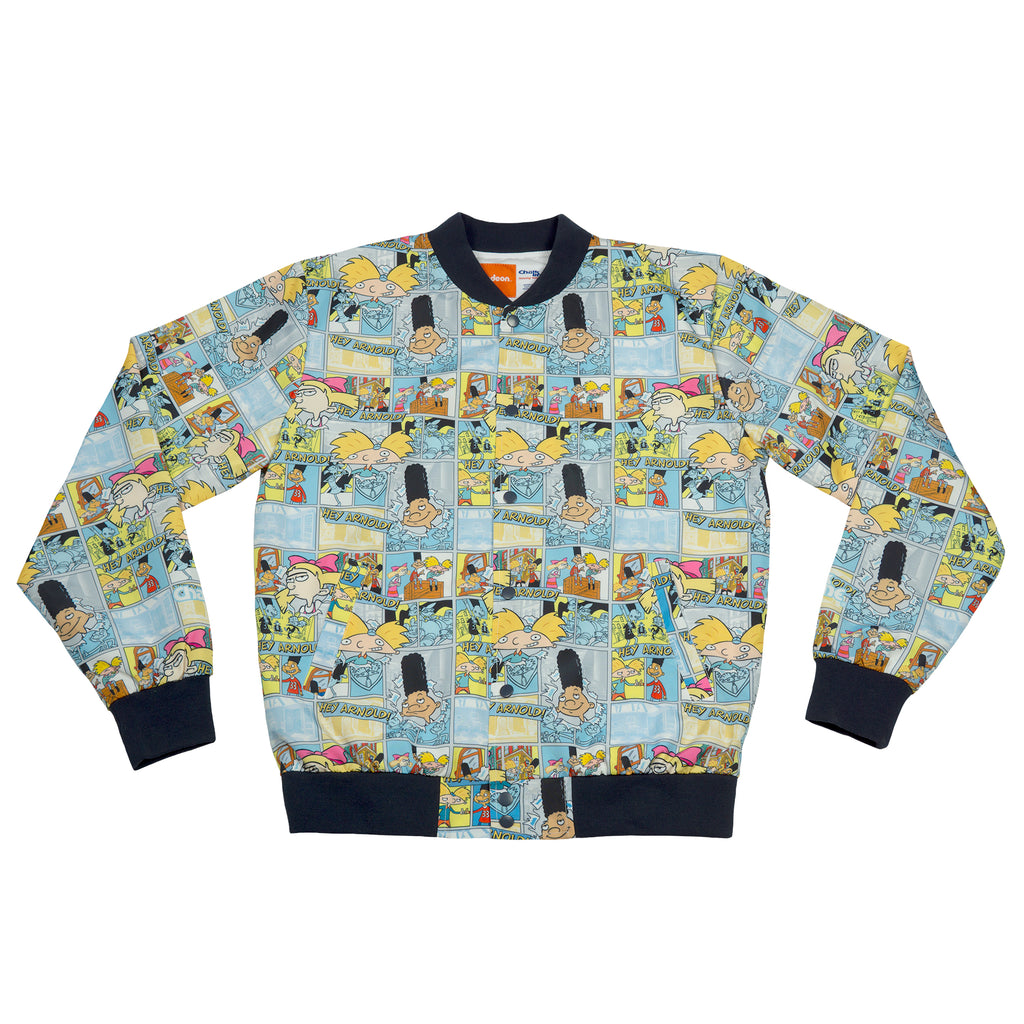 Hey Arnold All Over Retro Fanimation Jacket