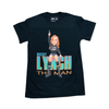 "WWE Becky Lynch ""The Man"" Salem Sportswear Black T-Shirt"