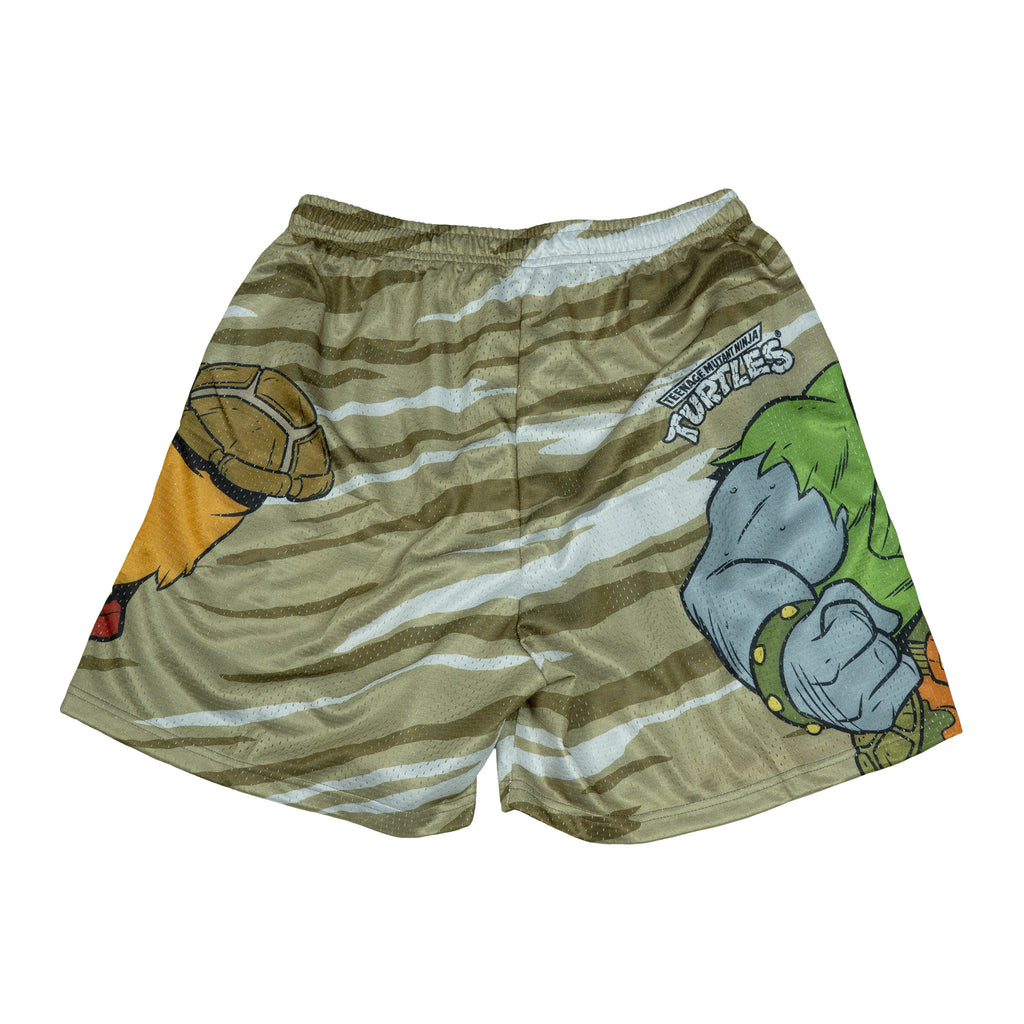 Bebop & Rocksteady TMNT Mesh Short
