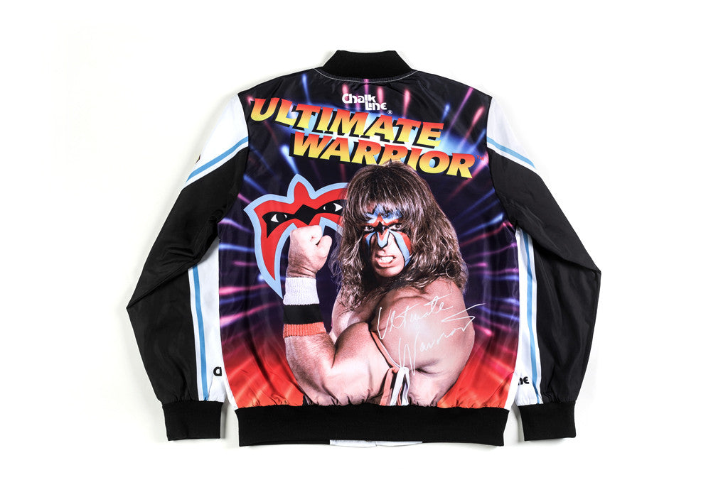 WWE Retro Ultimate Warrior Fanimation Jacket