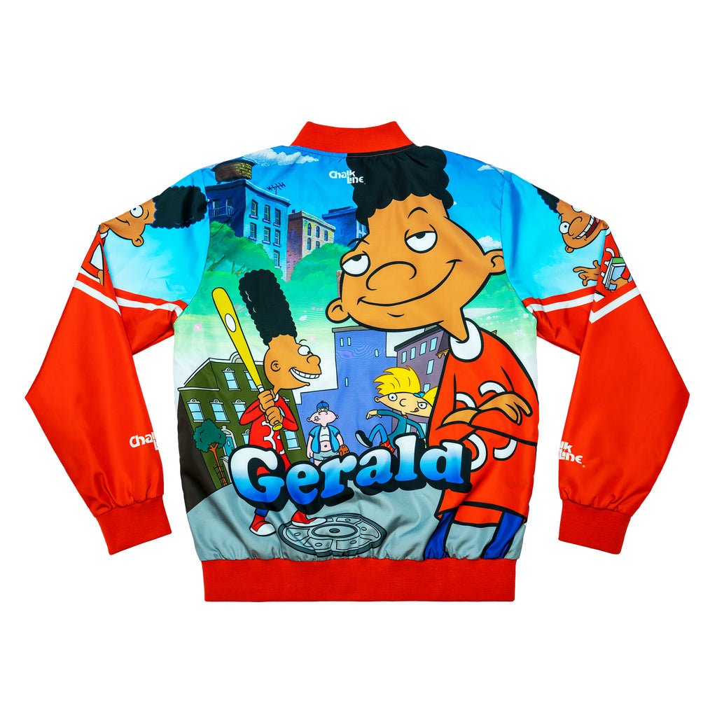 Gerald Retro Nickelodeon Fanimation Jacket