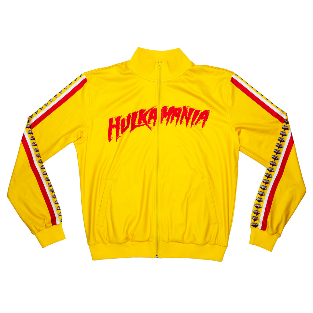 Hulk Hogan Retro Track Jacket