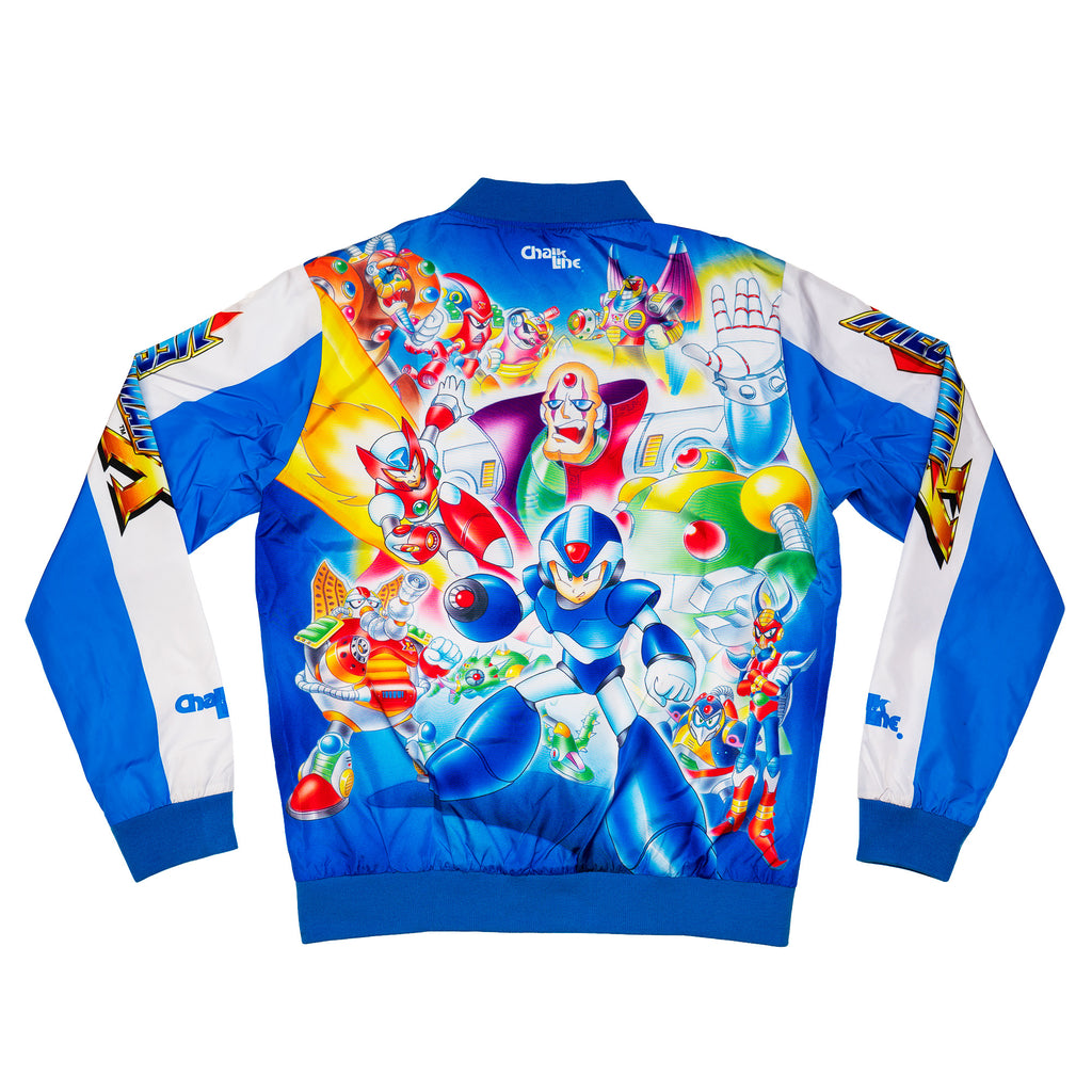 Mega Man Reverse Fanimation Jacket