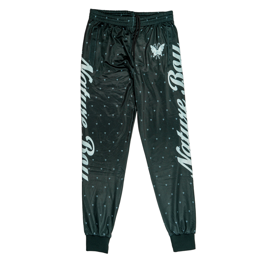 "Ric Flair ""Nature Boy"" Black Retro Track Pants"
