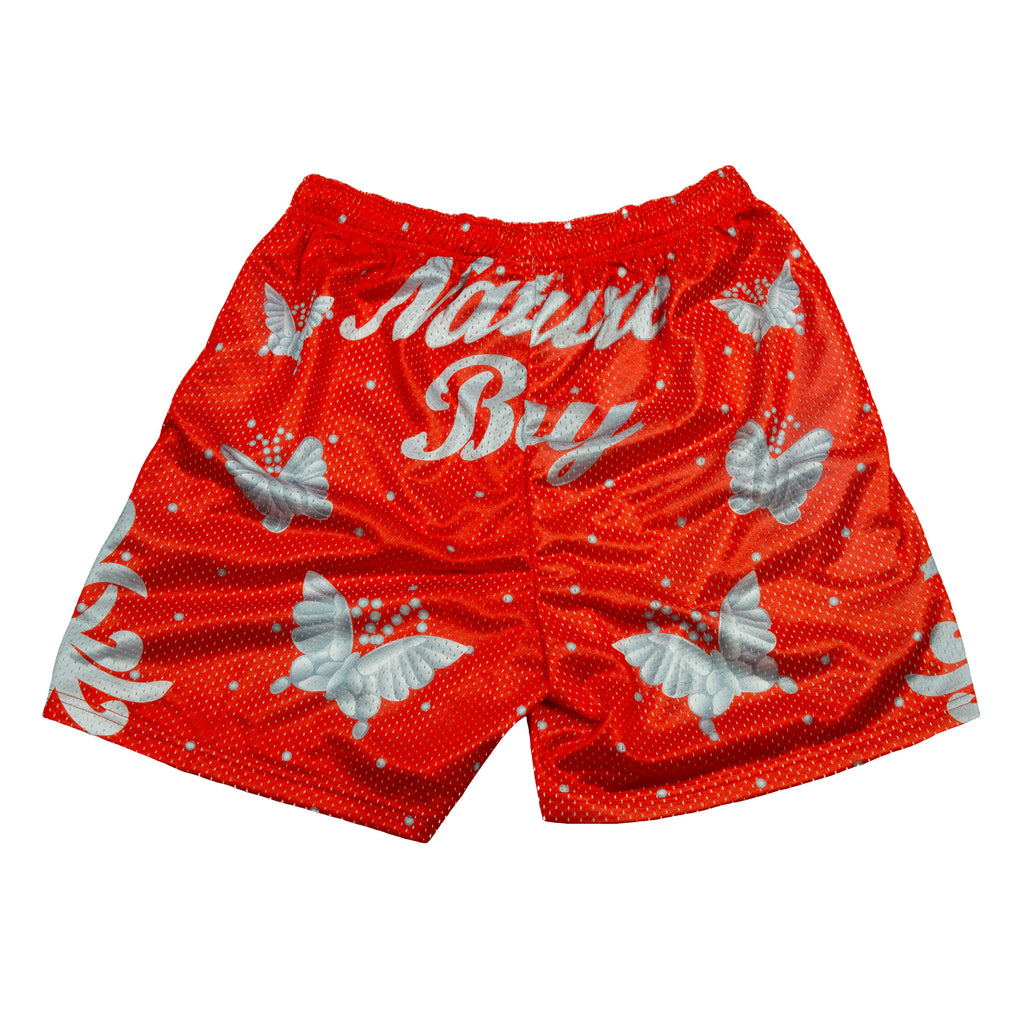 Ric Flair Red Nature Boy Shorts