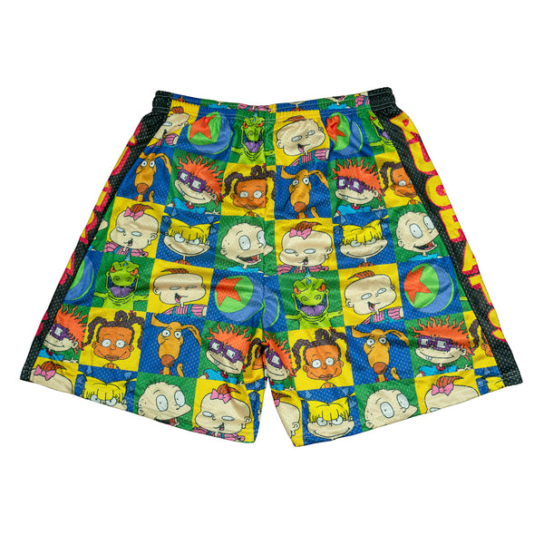 Rugrats Retro All Over Print Mesh Shorts