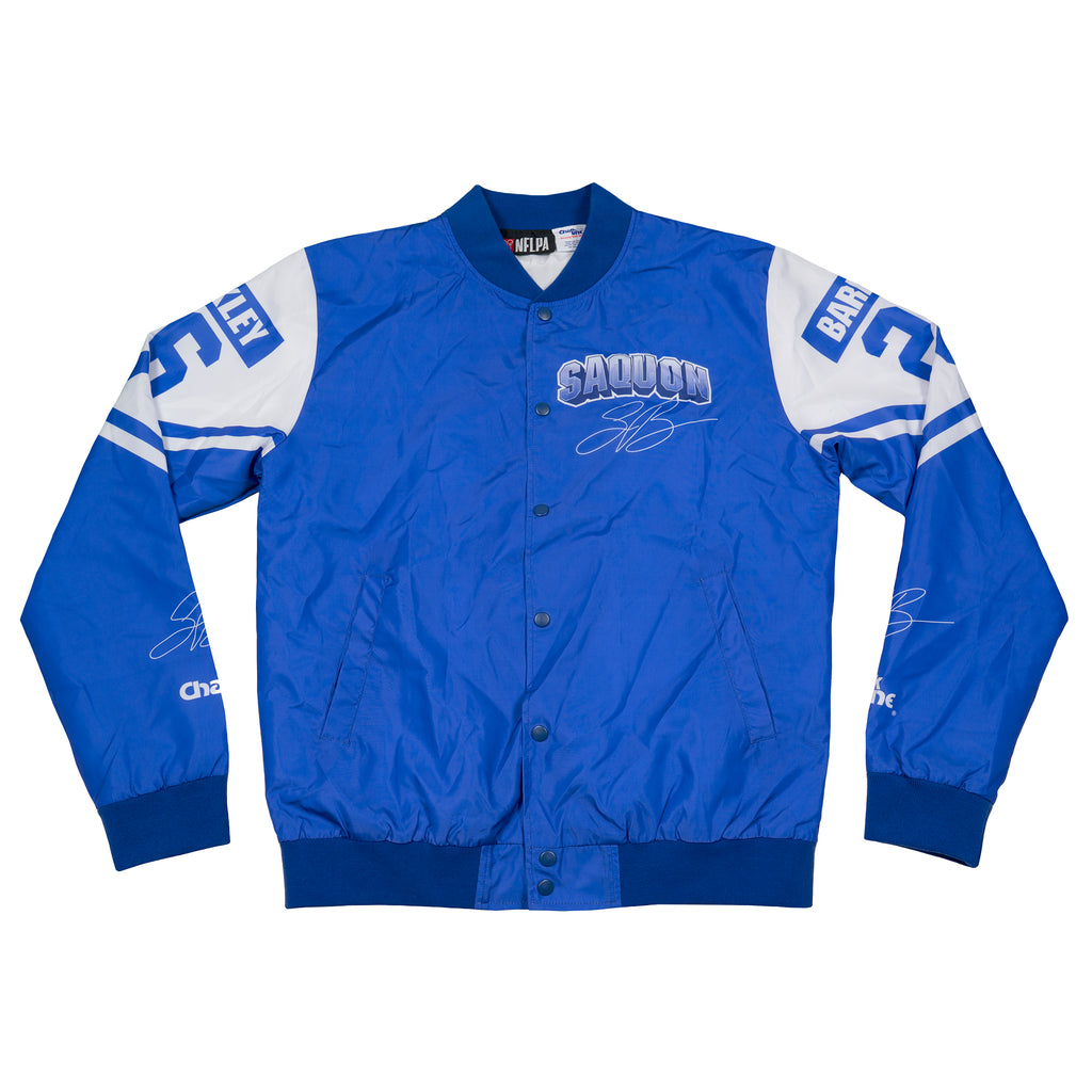 Saquon Barkley Retro NFLPA Fanimation Jacket