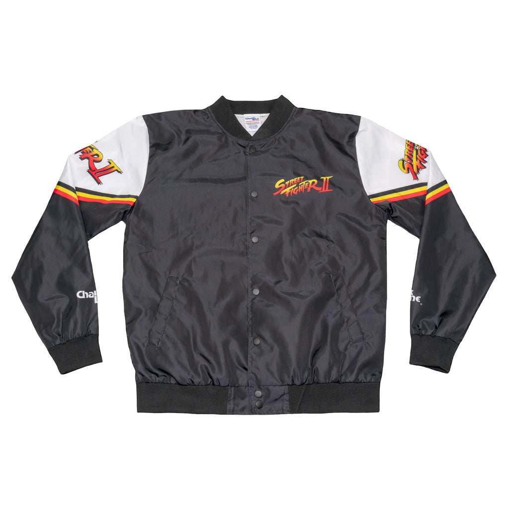 Street Fighter 2 Retro Collage Fanimation Jacket