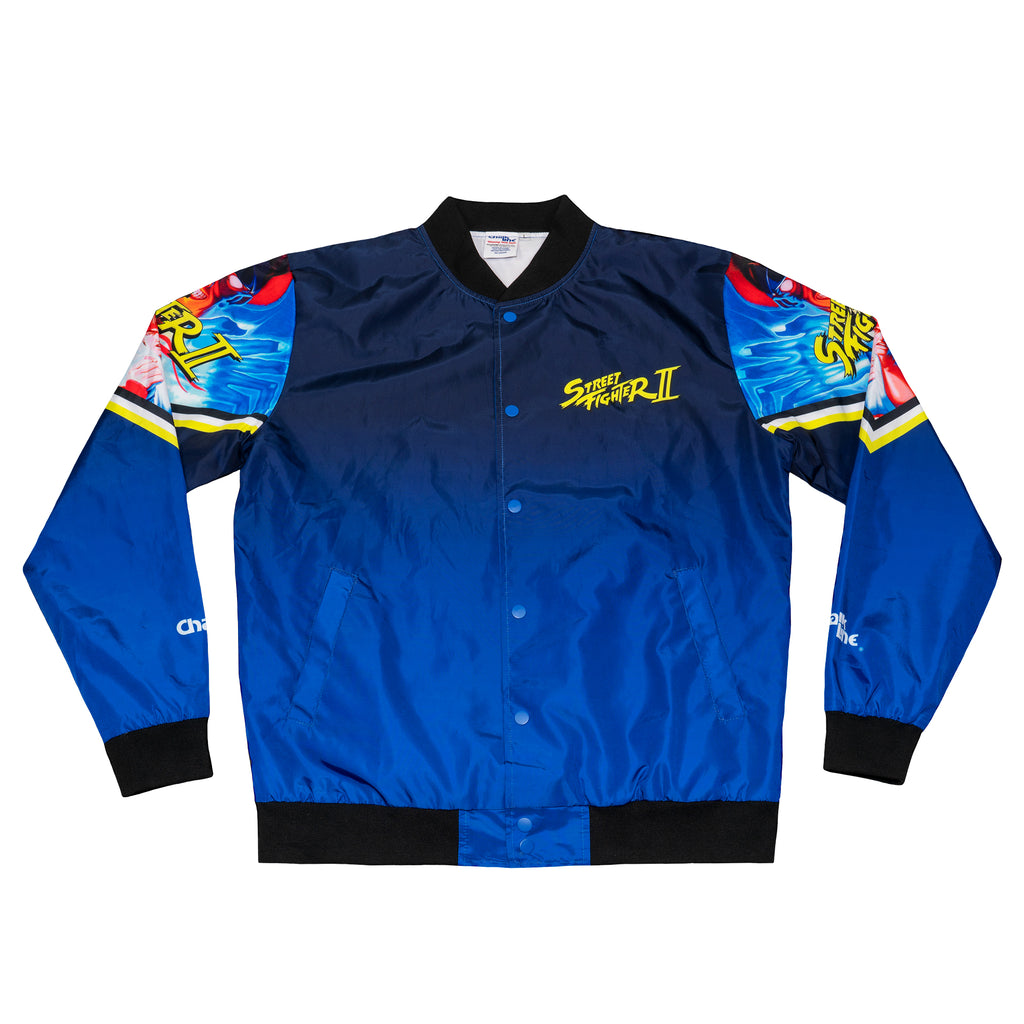 Street Fighter 2 Retro Character Fanimation Jacket