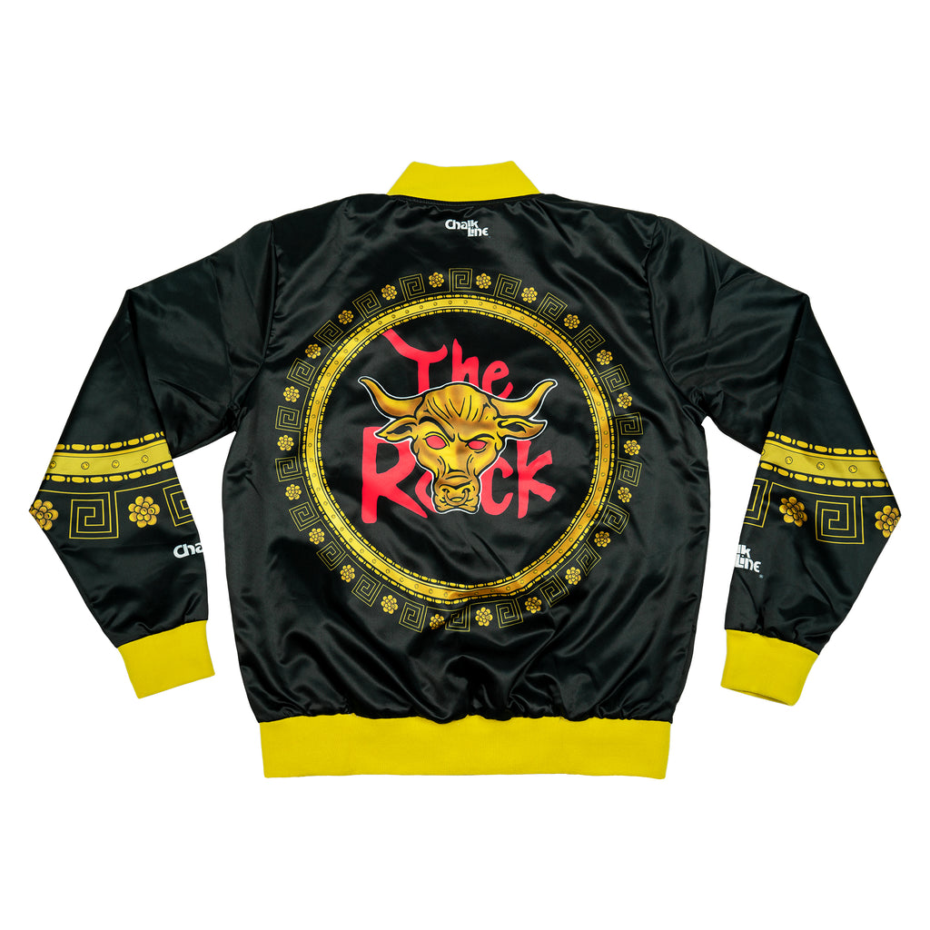The Rock Retro WWE Entrance Jacket