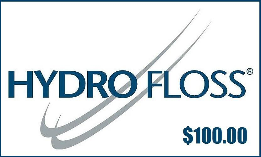 Hydro Floss Gift Card $100.00